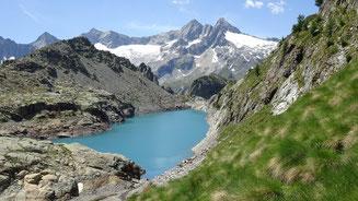 Il Lago Pirola in alta Valmalenco