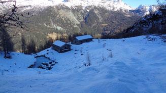 L'Alpe Lagazzuolo in veste invernale