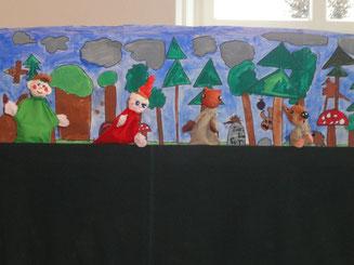 Schülervorstellung Kasperlitheater