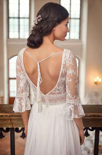 Brautkleider mit verschiedensten Ärmellängen