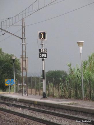 1 - Observar cartelón 2 Pasos a nivel
