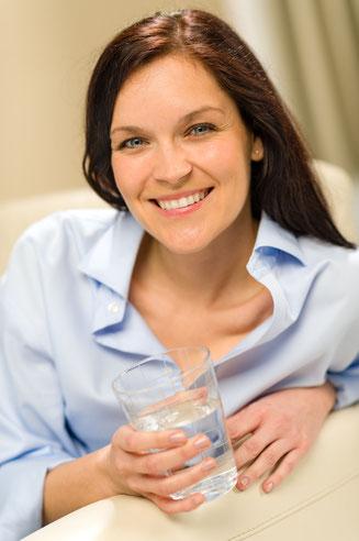 Gutes Wasser steigert Ihre Gesundheit und Ihr energetisches Wohlbefinden.