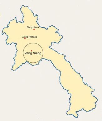 Laos - Vanh Vieng - Weltreise Blog und Reiseziele - Travel um die Welt