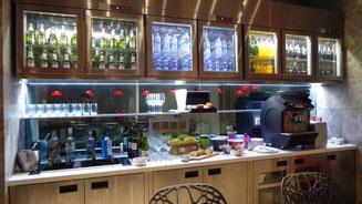 Bild: Frühstücksbüffet im Hotel in Hongkong