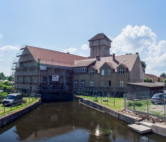 Bild: Elektrizitätswerk in Neustadt-Glewe