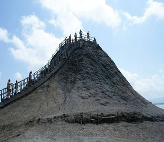 Bild: Volcan de Lodo El Totumo bei Cartagena