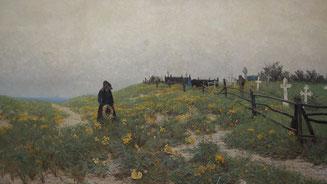 Bild: Paul Müller-Kaempff, Der alte Schifferfriedhof von 1893