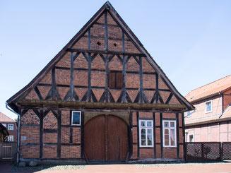 Bild: Das Ackerbürgerhaus in Bleckede