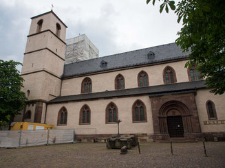 Bild: Magnuskirche in Worms