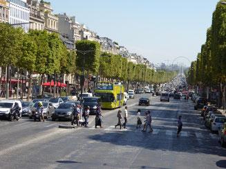 Bild: Champs Elysées