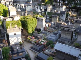 Bild: Friedhof Montmartre