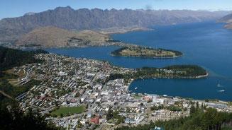Bild: Queenstown in Neuseeland