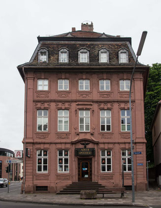 Bild: Adlerapotheke in Worms