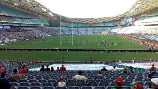 Bild: Rugby-Spiel in Sydney