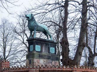 Bild: Löwenkultur in Ratzeburg