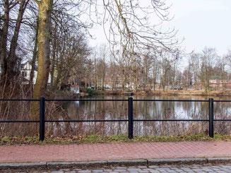 Bild: Batardeau in Glückstadt