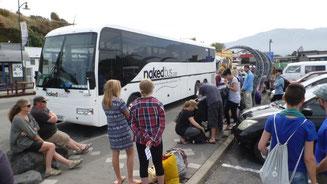 Bild: Reisebus in Neuseeland