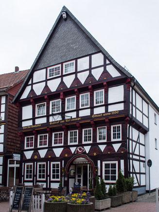 Bild: Ratswage in der Stadt Osterode am Harz