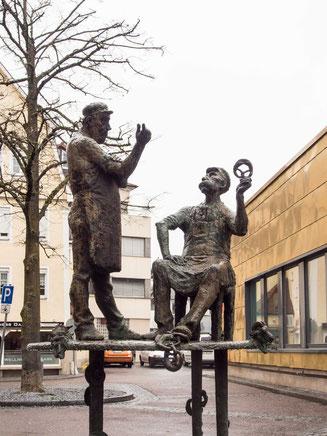 Bild: Brezgablasebrunnen