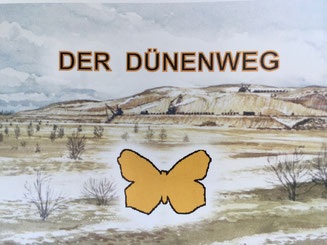 Bild: Der Wanderweg ´Der Fünenweg´ im NSG Boberger Niederung