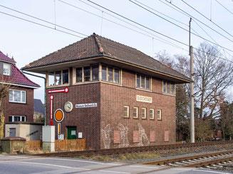 Bild: Stellwerk in Glückstadt