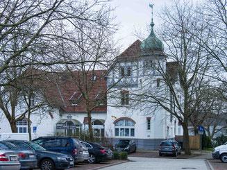Bild: Ehemaliger Bahnhof von Ratzeburg