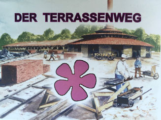 Bild: Wanderkarte des Terrassenweg im NSG Boberger Niederung