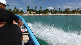 Bild: Überfahrt von Bayahibe auf der Dominikanischen Republik nach Isla Saona