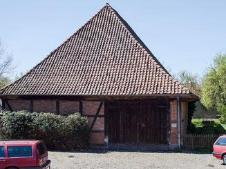Bild: Die Zehntscheune in Bleckede
