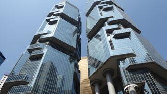 Bild: Hochhaus in Hongkong