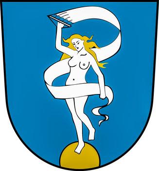 Bild: Das Wappen Glückstadts