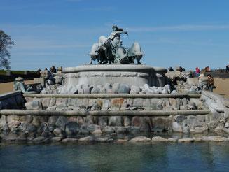 """Bild: Brunnen """"Gefion"""""""