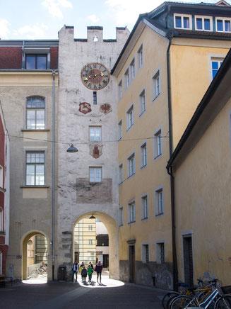 Bild: Das Ursulinentor in Bruneck