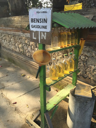 Bild: Tankstelle in Sanur