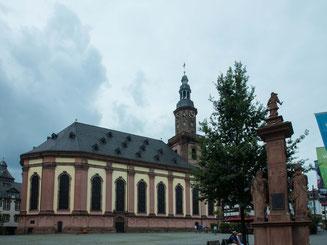 Bild: Dreifaltigkeitskirche in Worms