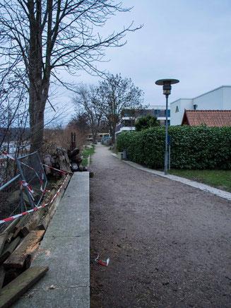 Bild: Karl Adam Weg in Ratzeburg