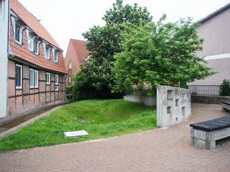 Bild: ehemalige Synagoge in der Lübecker Straße in Bad Segeberg
