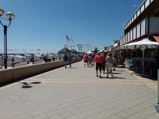Strandpromenade Ostseeheilbad Grömitz