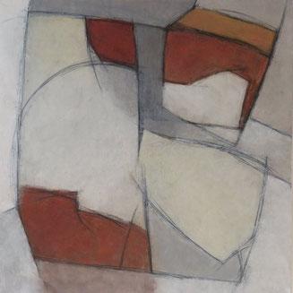 Accord dit sonnant / Acrylique sur toile 100 x 100