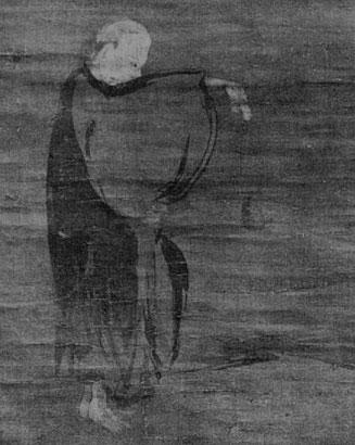 6. Le Rakkan Kenshi. Gaston MIGEON (1860-1930) : Observations sur la peinture chinoise Revue de l'art ancien et moderne, Paris. Tome 49, 1926.
