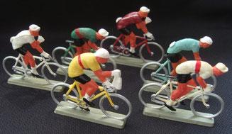 Cyclistes plastiques STARLUX