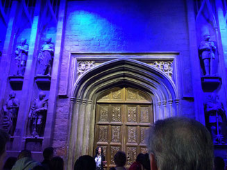 Harry Potter Studio Tour - The great hall