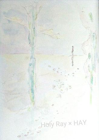 「エメラルドの柱」2018