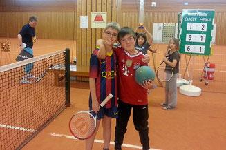Kinder-Tennistraining