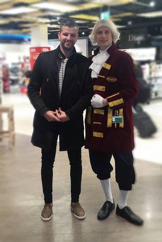 ALEX en novembre 2015 à l'aéroport de Vienne