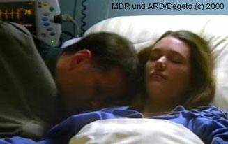Alina liegt nach Jonas' Geburt im Koma