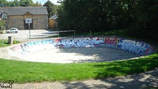 Skate à Rennes, bol des Longs Champs