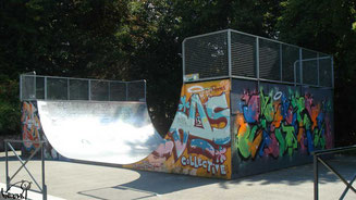 Skate à Rennes, rampe des Gayeulles