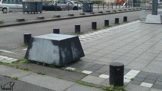 Skate à Rennes, la gare SNCF