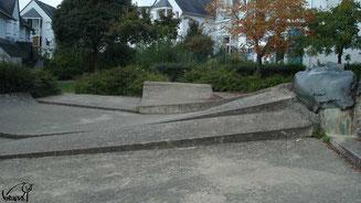 Skate à Rennes, rue St Malo
